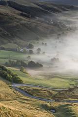 Valley Mist (Kathy ~ FineArt-Landscapes) Tags: mist peakdistrict hopevalley hills britain light landscape