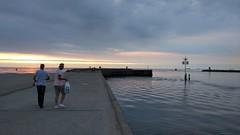Toerist in je eigen stad... (Ezra070) Tags: zuidelijkhavenhoofdscheveningen scheveningen pier strand denhaag smartphone 070