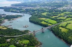 Menai Straits. (peterdouglas1) Tags: anglesey northwalescoast menaistraits menaibridge britanniabridge