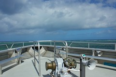 Australia (Bob Bain1) Tags: barrierreef australia marine blue ocean travel quicksilver portdouglas boat ship canon550 queensland bow