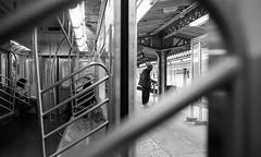 6 Train (shudaizi) Tags: developer usa xtol hp5 lens northamerica street newyork 2013 film nyc subway places leicasummicron35mmf20asph blackandwhite m6 genre newyorkcity