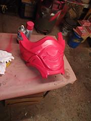 Abdomen Secition Polishing (thorssoli) Tags: schick hydro robotrazor razor sdcc comiccon sandiego conx entertainmentweekly costume suit prop replica hydrorescue schickhydro