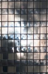 dark clouds over Berlin (rooibusch) Tags: berlin mitte fassade glas reflektionen wolken