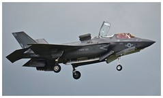 Lockheed F-35B Lightning II USMC 168726:VM-18 (Ciaranchef's photography.) Tags: f35b lightningii f53lightning lockheed farnborough2016 farnboroughairshow airshow airdisplay usmarinecorps flyingdisplay flying militaryjets militaryaviation nikonaviation nikon18300mmf3556gedvr nikond7000