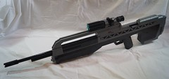 BR55HB - Overview ({.Reaper.}) Tags: halo lego battle rifle br battlerifle wars halowars halo3 halo2