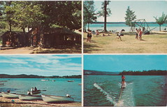 NW Bellaire Antrim MI NORTHLAND RESORT LODGE & COTTAGES on Lake Bellaire Family SUMMER VACATION FUN Lodge Dining Water Sports and Fishing FUN Playground for the kids (UpNorth Memories - Donald (Don) Harrison) Tags: vintage antique postcard rppc don harrison upnorth memories upnorth memories upnorthmemories michigan history heritage travel tourism michigan roadside restaurants cafes motels hotels tourist stops travel trailer parks campgrounds cottages cabins roadside entertainment natural wonders attractions usa puremichigan
