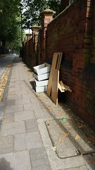 dumped rubbish Stepney Geen (Carol B London) Tags: ids stepney e1 londone1 dumped rubbish oldfurnitue lbth towerhamlets stepneygreen