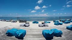 Gili Trawangan, Indonesia (Fitria Ghassani) Tags: outdoor beach sea blue tanning relax chill vacation goprohero4 gopro gopro4