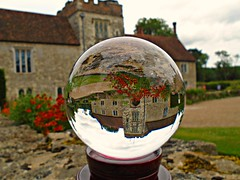 Ightham Mote (ttelyob) Tags: ighthammote nationaltrust globe sphere ball crystalball picmonkey