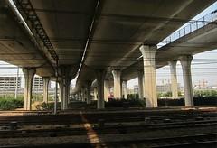 Going Places (Mary Faith.) Tags: roads bridge rail transport traffic china shanghai