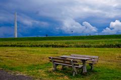 Dutch landscape (Hans Dethmers) Tags: hansdethmers dijk dyke bank landschap nederland landscape colour color fuji