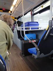 Luggage space (stevenbrandist) Tags: holiday skylink kinchbus bus luggage rack
