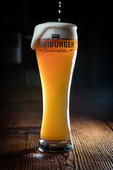 thirsty (tripleloutz) Tags: beer glass fribourg switzerland foam drink craftbeer craft draught