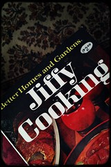(237/366) Jiffy Cooking (CarusoPhoto) Tags: hipstamatic loftus love81 jollyrainbo2x vintage cookbook cook book better homes gardens john caruso caruosphoto photo day project 365 366 lowfi iphone 6 plus