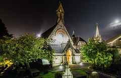 St Augustine's church Derry (Paul Millar44) Tags: derry city canon canon600d cityside church st augustines graveyard walls nightshot night north history