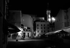 """Alone"" Piran, sept. 2016 (Dusan Zidar) Tags: streetphotography bw blackwhite a6000 piran slovenia"