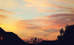 Sunset (tad2106 - Trudie Davidson Photography) Tags: sky sunset dusk weather sillouette clouds nature