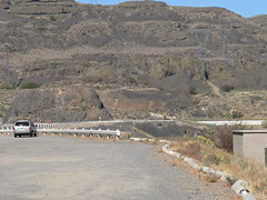 025-03 USA, Washington, Grand Coulee, Banks Lake Rest Area Causeway to Dam (Aristotle13) Tags: wa bankslake grandcoulee washingtonstate restarea 2007 usavacation