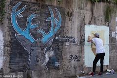 Street art in Kuching (J----D----) Tags: streetart graffiti sarawak malaysia kuching