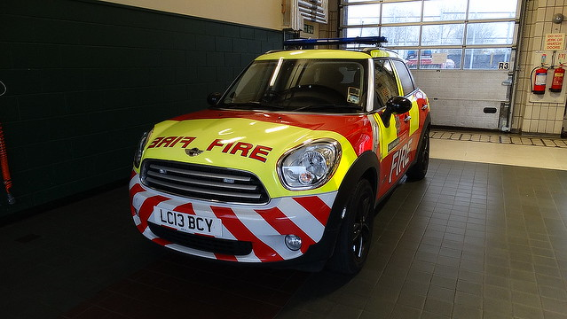 west alarm station fire support mini safety business cooper automatic vehicle minicooper service firefighters appliance afa midlands c7 firesafety ladywood wmfs bcy westmidlandsfireservice bsv co79 lc13 ladywoodfirestation lc13bcy businesssupportvehicle