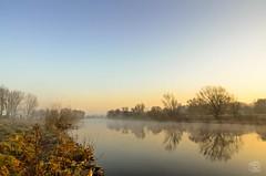 Heute Morgen an der Ruhr... (jennifer.stahn) Tags: nature river landscape nikon jennifer natur soul ruhr ruhrgebiet pott ruhrpott mülheim flus stahn d7000