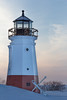 (mattnorton2u) Tags: sunset ohio red lighthouse lake snow matt norton erie vermilion nortdogz mattnorton2u