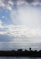 madeira-3-100215 (Snowpetrel Photography) Tags: travel sea sky portugal clouds seascapes beaches madeira breakwaters pontadosol smcpda21mmf32al justpentax pentaxk3