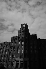 半分弱が影(市政会館) 范文雀… Blac&white  Monochrome Blackandwhite Tokyo