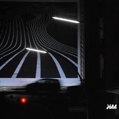 roter punkt (Scilla sinensis) Tags: bridge light red motion lines car hotel hamburg silhoutte schanzenviertel siluett schanzenbrücke fotosondag fs150329