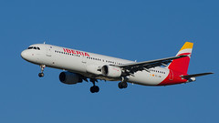 """Cantabria"", short final for 32 L (cumulogranitus) Tags: airbus iberia lemd a321211 ecjdm"