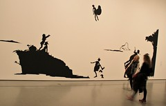 Kara Walker. Gone: An Historical Romance of a Civil War as It Occurred b'tween the Dusky Thighs of One Young Negress and Her Heart (J Blough) Tags: nyc museum kara moma walker karawalker