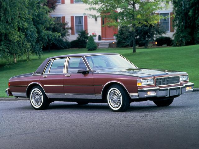classic chevrolet caprice brougham 19871990