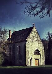 Vampire Hostel (Philippe Vieux-Jeanton) Tags: france church darkroom chapel essonne maisse dsc006001504