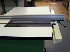 Rex Parkison table saw with VerySuperCool Tools fence system 03