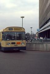 BIRMINGHAM CENTREBUS Route 101 BON455C (shipcard) Tags: daimler fleetline wmpte westmidlandspte centrebus singledeckbus bon555c