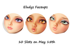 Upcoming May Slots (Eludys) Tags: