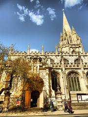 Church of St. Mary the Virgin, High Street, Oxford (photphobia) Tags: uk university oxford colleges highstreet oxforshire