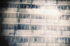 Abandoned office building (Kuusela photography) Tags: berlin analog 35mm holga lomography doubleexposure 35mmfilm 200 vista ddr plus analogue agfa expired expiredfilm agfaphoto 135bc
