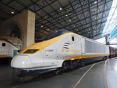 Eurostar (Megashorts) Tags: york uk england museum yorkshire railway olympus pro f28 nationalrailwaymuseum omd em10 mzd 1240mm