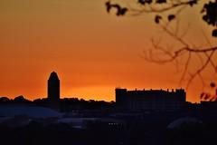 Uneventful Dog Days Of Tejas Summer Sundown Cowtown (Cowboy Dan Paasch) Tags: fort worth will rogers tower coliseum untshc unthsc