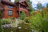 The garden is a sanctuary - Norway (Ingunn Eriksen) Tags: garden house architecture pond goldfishpond watergarden