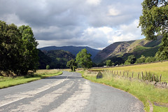 Road to the mountains (Cumberland Patriot) Tags: road park mountain lake mountains english landscape outdoor district hill hills national cumbria fells fell blencathra thirlmere cumbrian rainge thirlspot a591
