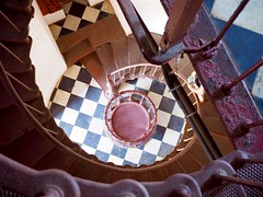Hatteras lighthouse spiral (Chip O'Neal) Tags: stairs obx lighthouse photography