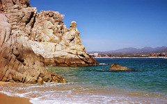View from Lover's Beach (b.keelerfoster) Tags: cabosanlucas bajacaliforniasur mexico film 35mm