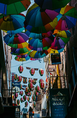 We own the sky (mripp) Tags: umbrella art kunst love romance liebe street strase heiraten merry prchen zusammen lovely colour colourful full frame istanbul turkey trkei fuji xpro2 35mm