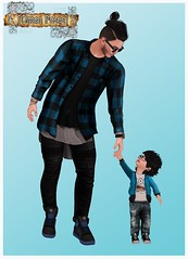 [Omen Poses] Take My Hand (gabii.corpur) Tags: life boy baby man kids child little father son second poses omen omenposes