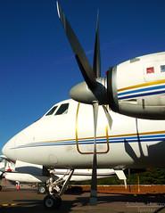 G-I (Antnio A. Huergo de Carvalho) Tags: grumman gulfstream g159 gulfstreamg159 gi ptkyf airplane aircraft aviation aviao avio aviaogeral aviaoexecutiva hlice prop propeller turbolice turboprop