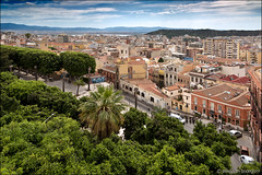 cagliari (heavenuphere) Tags: cagliari sardegna sardinia sardinie italia italy europe island city view cityscape trees park 24105mm