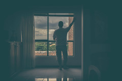 No one is ever satisfied where he is....Only the children know what theyre looking for....   The Little Prince (Just lovin' it) Tags: self selfie peace view indoor