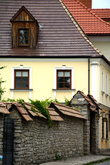 old town street (intui.pro) Tags: old roof tower tourism window nature stone wall architecture landscape town outdoor stones stonework shingles ukraine walls palaces kamianetspodilskyi
